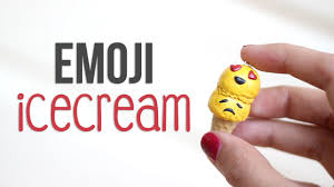 ice cream emoji diy emoji ice cream youtube
