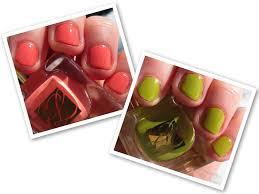 estée lauder pure color nail lacquer in coral cult and absinthe