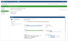 sample bug report viewing the clover code coverage for a build atlassian documentation screen shot the clover tab for bamboo 5 6 0 and earlier only one report is shown you can access other reports using the artifacts tab