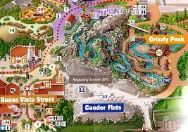 map of california adventure disney is changing california adventure s condor flats into