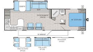 2 bedroom 5th wheel floor plans 2016 fifth wheel floor plans with bath and a 1 2 pictures to pin