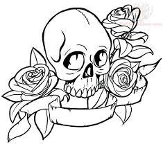 skulls flash design
