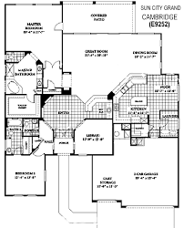grand floor plans sun city grand floor plans nancy muslin