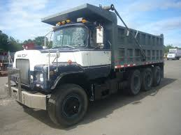 mack dump truck 1987 mack dm688s tri axle dump truck for sale by arthur trovei