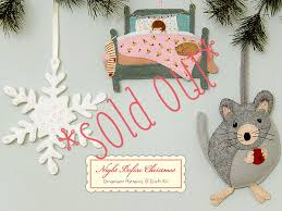 posie gets cozy before ornament kits sold out