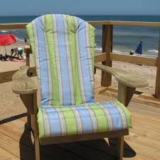 furniture pretty adirondack chair cushions for home furniture weathercraft designers choice sunbrella adirondack chair cushion