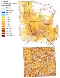 Oak Ridge Tennessee Map by Landsat Helps Map Soil Carbon Flux Landsat Science
