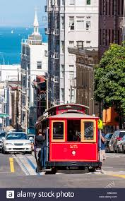 San Francisco Cable Cars Map by San Francisco Cable Car Stock Photos U0026 San Francisco Cable Car