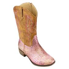 womens size 11 pink cowboy boots betani s embroidered mid calf block heel