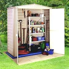 Plastic Outdoor Storage Cabinet Plastic Backyard Storage Sheds Plastic Outdoor Storage Shed