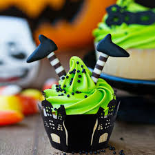 halloween spider web cake aliexpress com buy ourwarm 48pcs halloween party cupcake