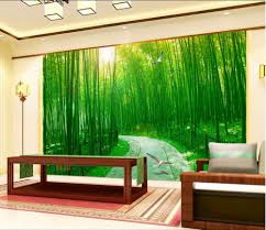 online get cheap bamboo painting wall paper aliexpress com 3d wallpaper custom mural forest road bamboo painting wall papers home decoration 3d wall murals wallpaper