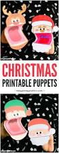 printable christmas puppets easy peasy and fun