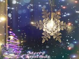 falling snowflake christmas lights falling snow led string light snow curtain light string luces