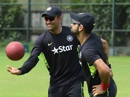 Shahid Kapoor Cock - virat kohli keeps wickets to give ms dhoni a one over break ndtv