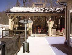 Heating Outdoor Spaces - costco napoleon natural gas patio heater entertaining ideas
