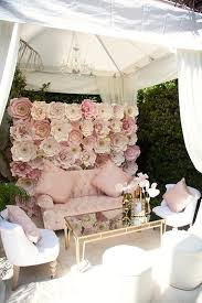 wedding backdrop set up pink ballerina baby showers pink tutu and ballerina