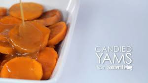 thanksgiving candied yam recipe candied yams recipe myrecipes