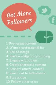 research backed tips to get more followers on twitter facebook