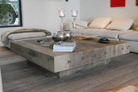 large living room coffee table livingroom large square wood coffee table furniture new reclaimed