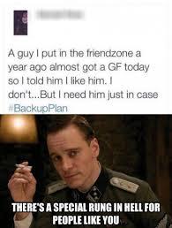 Friendship Zone Meme - friendzone backup plan
