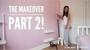 diy home decor makeover series girls bedroom carly jade