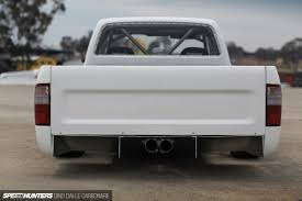 nissan pickup stance the final entry engineered to slide hilux speedhunters
