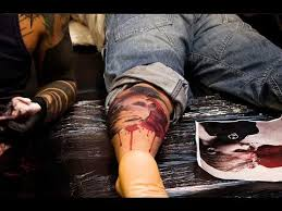 leg tattoos for men youtube