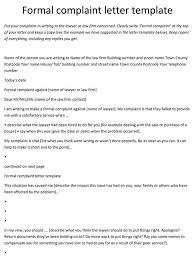 Formal Complaint Letter Against An Employee 10 complaint letter templates sles in word pdf format