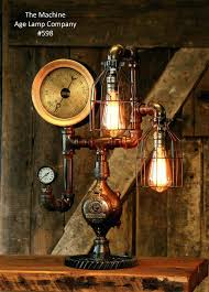 steampunk table lamp for sale ideas lamps modern wall sconces and