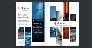 2 fold brochure template free moenia bi fold brochure template brochure templates pixeden