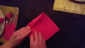 Pliage De Serviette En Papier 2 Couleurs Papillon by Pliage Serviette 2016 Youtube