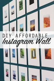 design evolving creating an affordable instagram photo wall