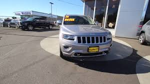 Grands Beckley Wv by 2014 Jeep Grand Cherokee Overland Billet Silver Metallic