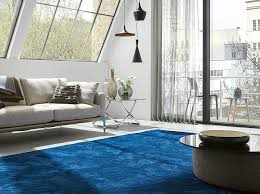 Blue rug a raindrop at your home decor