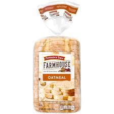 pepperidge farm light bread pepperidge farm farmhouse hearty sliced bread oatmeal 24 oz loaf