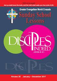 greater evangelism world crusade sunday department