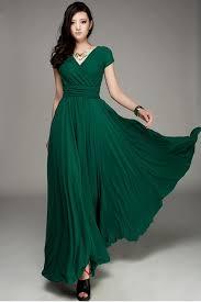 long flowing emerald green bridesmaid dress designs u2013 weddceremony com