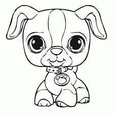 coloring pages littlest pet shop animals coloring coloring home
