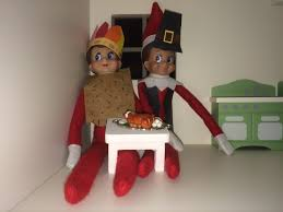 thanksgiving pilgrim and indian on the shelf