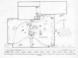 house site plan walnut willie p mangum house open durham
