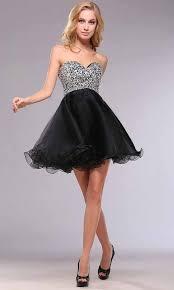 cute short sequin empire short black hoco dress ksp398 ksp398