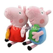 where to buy cute stuffed animal kids toys 2 piece peppa pig and