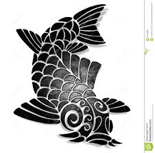 chinese carp stock illustration image 57278208