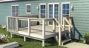 home deck plans stunning mobile home deck plans 13 photos uber home decor 13661