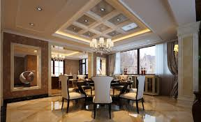 3d villa dining room with marble floors download 3d house