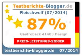 gastroback 41403 design fleischwolf plus gastroback 41403 design fleischwolf test trotz zweitem platz