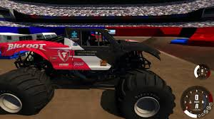 bigfoot monster truck st louis beamng drive monster jam new ford raptor bigfoot testing youtube