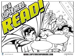 be a super hero read