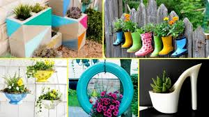 Garden Flowers Ideas 50 Creative Garden Flower Pot Ideas 2017 Creative Diy Flower